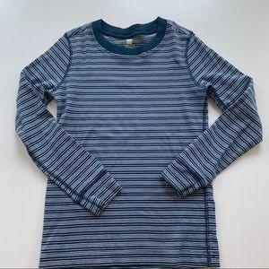 Other - Striped blue Tea shirt